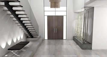 Online design Modern Hallway/Entry by Laura A. thumbnail