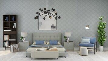 Online design Modern Bedroom by Eda B. thumbnail