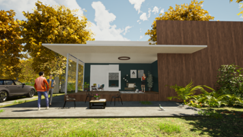 Online design Transitional Hallway/Entry by Mini G. thumbnail