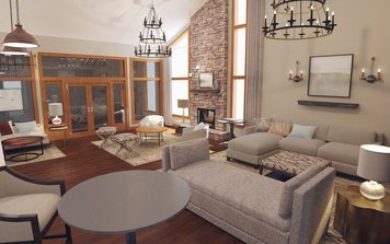 Online design Transitional Living Room by Catz D. thumbnail