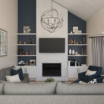 Online design Transitional Living Room by Shofy D. thumbnail