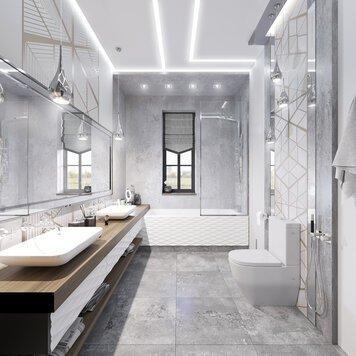 Online design Glamorous Bathroom by Anahit M. thumbnail