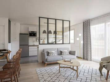 Online design Contemporary Combined Living/Dining by Romain D. thumbnail
