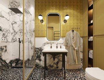 Online design Transitional Bathroom by Kristina B. thumbnail