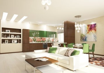 Online design Contemporary Living Room by Luba K. thumbnail