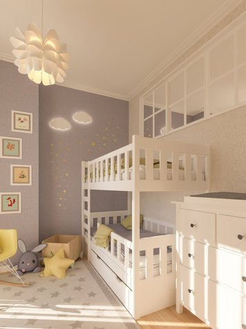 Online design Contemporary Kids Room by Sophio J. thumbnail