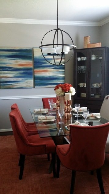 Online design Contemporary Dining Room by Amandela A. thumbnail