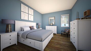 Online design Transitional Bedroom by Daisy A. thumbnail