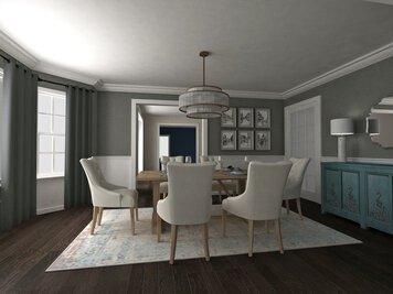 Online design Transitional Dining Room by Dragana V. thumbnail