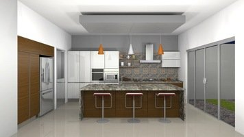 Online design Contemporary Kitchen by Laura L. thumbnail