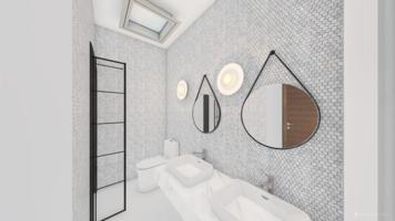 Online design Modern Bathroom by Ana L. thumbnail