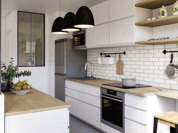 Online design Modern Kitchen by Romain D. thumbnail