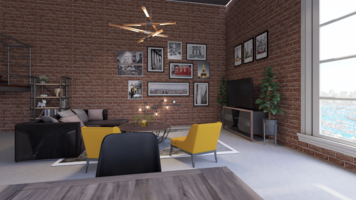 Online design Eclectic Living Room by Leah M. thumbnail