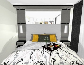 Online design Modern Bedroom by Yasmin C. thumbnail