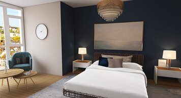 Online design Glamorous Bedroom by Lizzy M. thumbnail