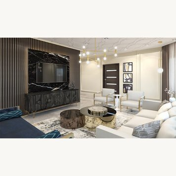 Online design Contemporary Living Room by Iulia B. thumbnail