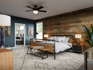 Online design Transitional Bedroom by Casey H. thumbnail