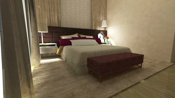 Online design Glamorous Bedroom by Jessica S. thumbnail