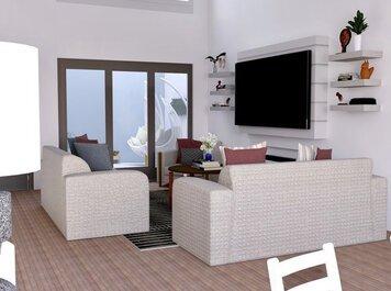 Online design Modern Living Room by Venessa T. thumbnail