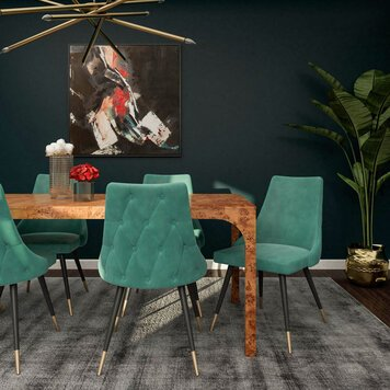 Online design Glamorous Dining Room by Aimee M. thumbnail