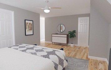 Online design Modern Bedroom by Jodi W. thumbnail