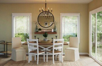 Online design Transitional Dining Room by Holly M. thumbnail
