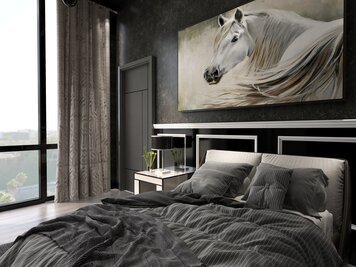 Online design Modern Bedroom by KaSonndra L. thumbnail