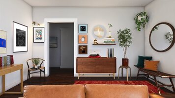 Online design Contemporary Living Room by Erin R. thumbnail
