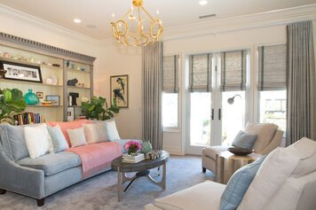 Online design Contemporary Living Room by Lori D. thumbnail