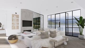 Online design Beach Living Room by Taron H. thumbnail