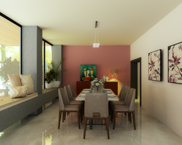 Online design Modern Dining Room by Mini G. thumbnail