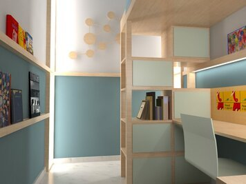 Online design Contemporary Kids Room by Eleni M. thumbnail