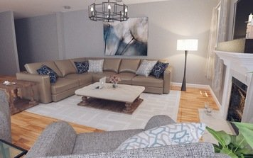 Online design Transitional Living Room by Jodi W. thumbnail