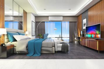 Online design Modern Bedroom by Lovisa K. thumbnail