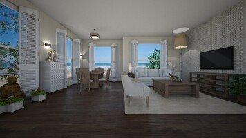 Online design Beach Living Room by Daisy A. thumbnail