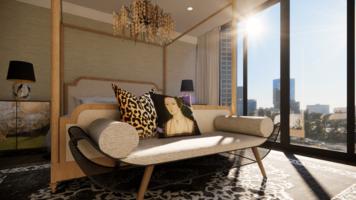 Online design Modern Bedroom by Matthew J. thumbnail