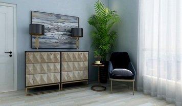 Online design Modern Bedroom by Linde P. thumbnail