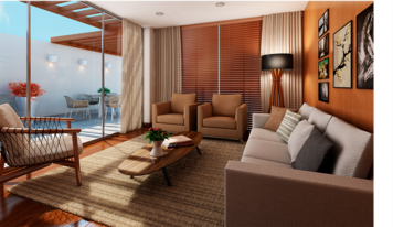Online design Contemporary Living Room by Mirella R. thumbnail