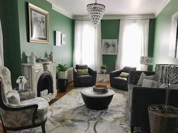 Online design Transitional Living Room by Samantha W. thumbnail