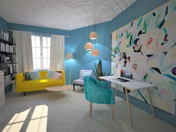 Online design Eclectic Home/Small Office by Dominika Z. thumbnail