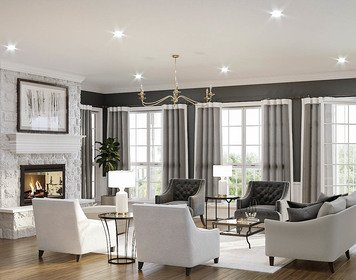 Online design Traditional Living Room by MaryBeth C. thumbnail