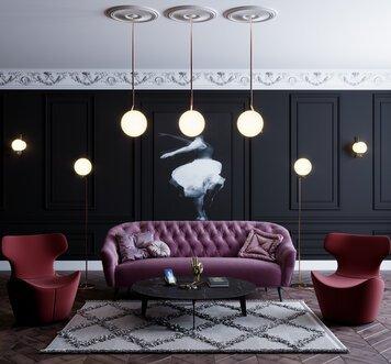 Online design Modern Living Room by Lachin G. thumbnail