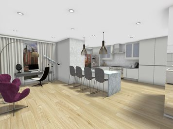 Online design Modern Home/Small Office by Jessica C. thumbnail