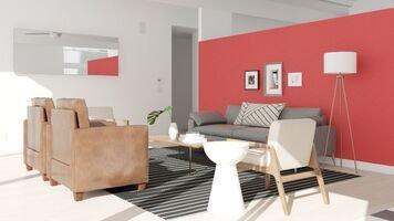 Online design Transitional Living Room by Deandra G. thumbnail