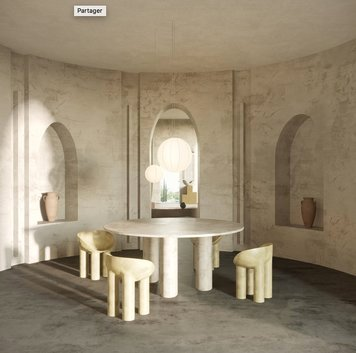 Online design Transitional Dining Room by llewellyn C. thumbnail