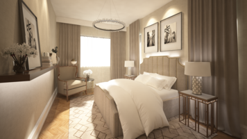 Online design Contemporary Bedroom by Atif N. thumbnail