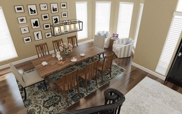 Online design Transitional Dining Room by Lacie H. thumbnail