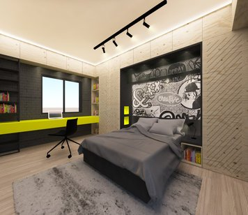 Online design Contemporary Bedroom by aly a. thumbnail