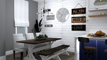 Online design Country/Cottage Dining Room by Yasmin C. thumbnail