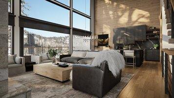 Online design Modern Living Room by Courtney B. thumbnail